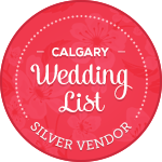 Calgary Wedding List - Silver Vendor