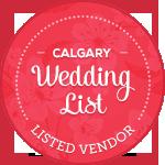 Calgary Wedding List - Vendor